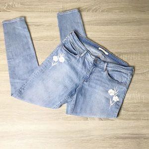 Levi's 711 skinnymid rise jeans